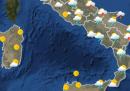 Le previsioni meteo per mercoledì 5 agosto