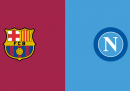 Barcellona-Napoli in diretta TV e in streaming