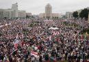 Un'altra enorme manifestazione in Bielorussia