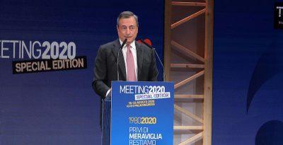 Il discorso di Mario Draghi di cui si sta parlando