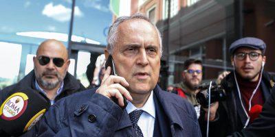 Il presidente della Lazio Claudio Lotito potrebbe diventare senatore