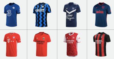 Le nuove maglie da calcio per il 2020/2021