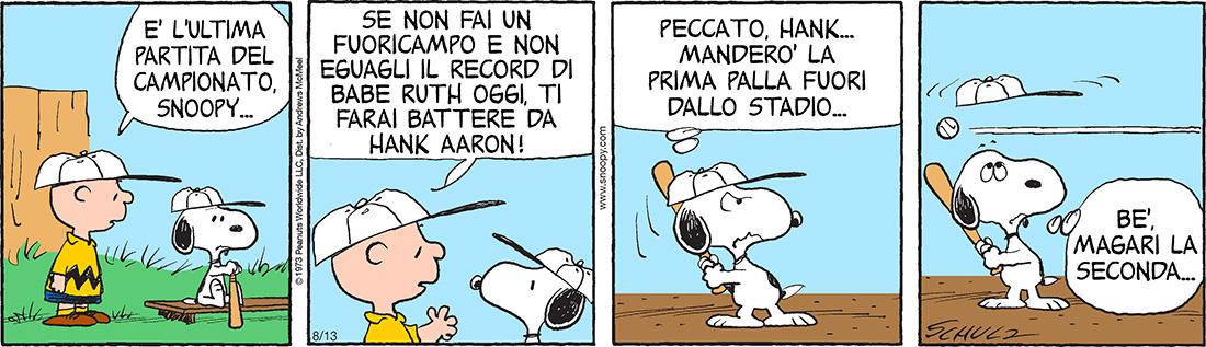 Peanuts 2020 agosto 13