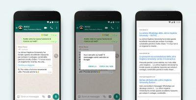 WhatsApp ha una nuova funzione per limitare la circolazione di fake news