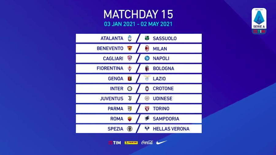 Il calendario della Serie A 2020/2021   Il Post