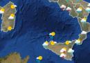 Le previsioni meteo per domenica 27 settembre