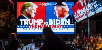 Sei momenti notevoli del dibattito fra Trump e Biden