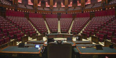 Il Parlamento diventerà più piccolo