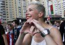 La leader dell'opposizione bielorussa Maria Kolesnikova è scomparsa