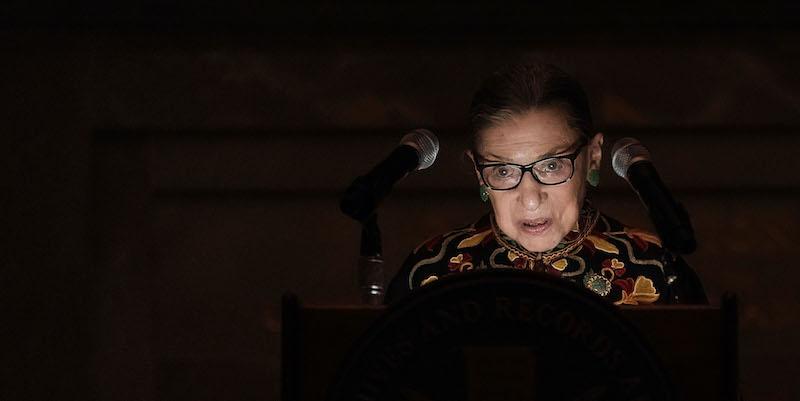È morta Ruth Bader Ginsburg thumbnail