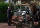 Qualcuno ha rubato la giacca al sindaco di Ventimiglia mentre era in diretta tv