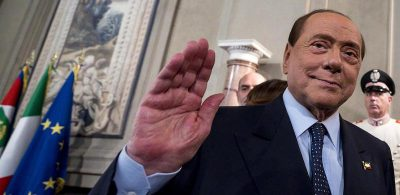 """Silvio Berlusconi dice che è """"tra i primi cinque"""" pazienti del San Raffaele come forza del virus"""