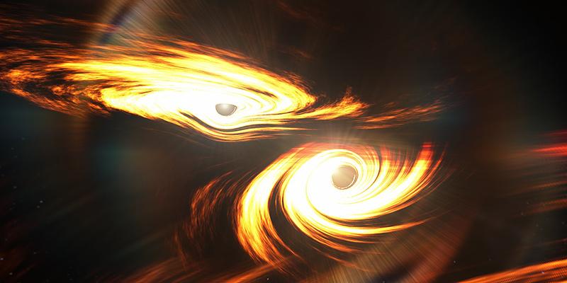 Il più grande scontro tra buchi neri mai scoperto