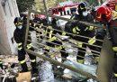 C'è stata un'esplosione in un condominio di Milano in piazzale Libia: ci sono otto feriti, uno grave