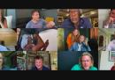Una decina di attori di Hollywood si sono riuniti su Zoom per beneficenza