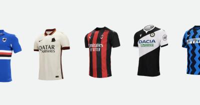 Tutte le maglie della Serie A 2020/2021