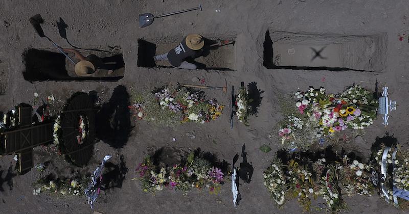 Il Messico sta finendo i certificati di morte