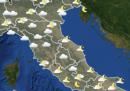 Le previsioni meteo per martedì 29 settembre