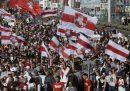 In Bielorussia ci sono state altre grandi proteste contro Lukashenko