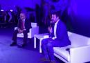 Il video in cui Salvini ammette di avere la febbre durante un comizio