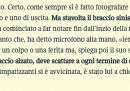 Salvini ha una spalla indolenzita per i troppi selfie, dice il Corriere