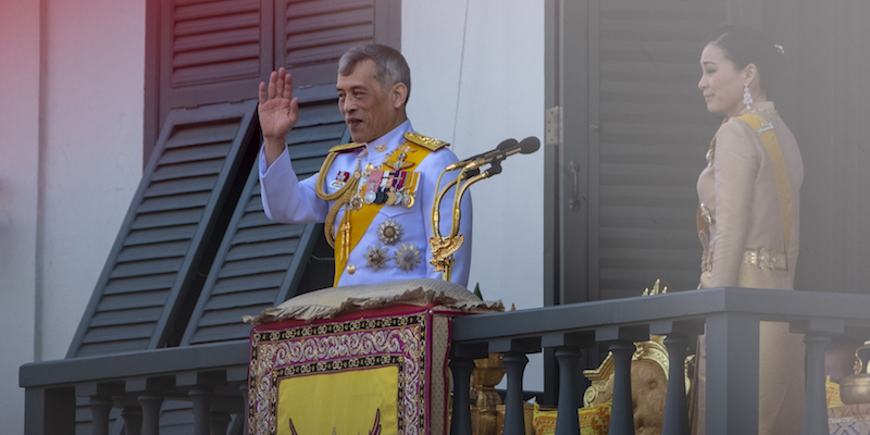 La Germania non vuole che il re della Thailandia faccia il re dalla Germania