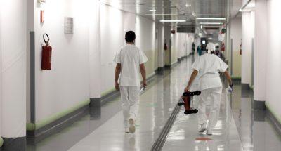 L'ospedale di Bergamo è in attesa