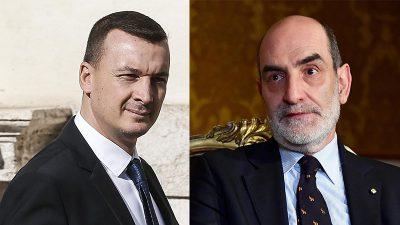 Il portavoce del presidente della Repubblica e quello del presidente del Consiglio sono positivi al coronavirus