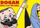 La nuova copertina di Charlie Hebdo con il presidente turco Recep Tayyip Erdogan