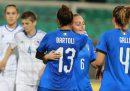 L'Italia femminile gioca una partita molto importante contro la Danimarca
