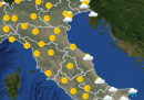 Le previsioni meteo per mercoledì 28 ottobre