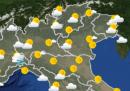 Le previsioni meteo di martedì 6 ottobre