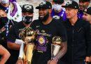 I Los Angeles Lakers hanno vinto la NBA