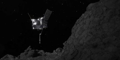 La sonda OSIRIS-REx ha esagerato