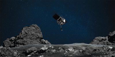 La sonda spaziale OSIRIS-REx ha toccato il suo asteroide