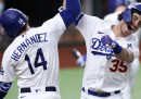 Los Angeles Dodgers e Tampa Bay Rays giocheranno le World Series del baseball