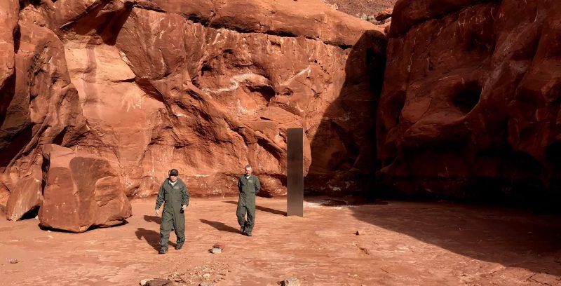 Cosa si sa del monolite trovato nello Utah