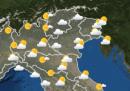 Le previsioni meteo per sabato 14 novembre