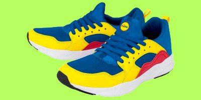 Il successo delle sneakers di Lidl