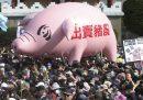A Taiwan si protesta contro la carne americana