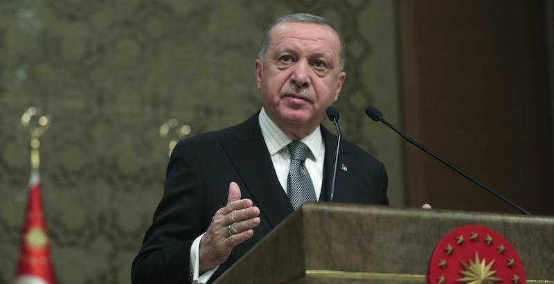 """Il governo turco ha convocato l'ambasciatore italiano ad Ankara dopo che Mario Draghi aveva definito Erdo?an un """"dittatore"""" - Il Post"""
