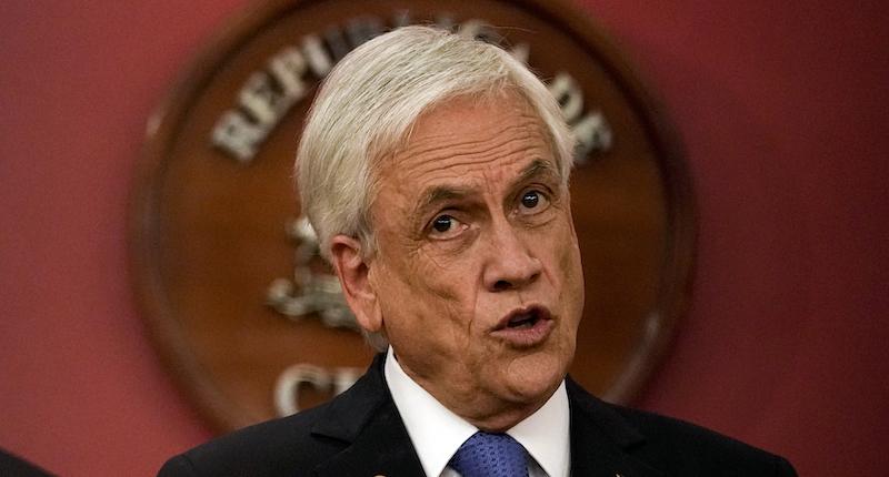 L'opposizione cilena ha presentato una mozione per rimuovere il presidente Sebastián Piñera, a seguito di uno scandalo legato ai Pandora Papers