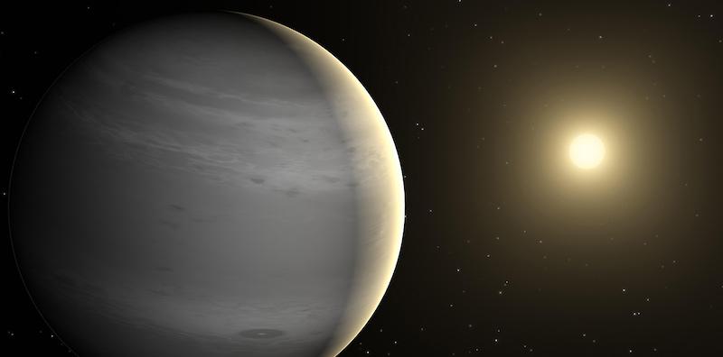 Un lontanissimo pianeta sopravvissuto alla morte della sua stella