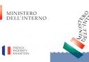 Il nuovo logo del Ministero dell'Interno