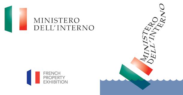 Il nuovo logo del ministero dell 39 interno isolavirtuale for Ministero interno r