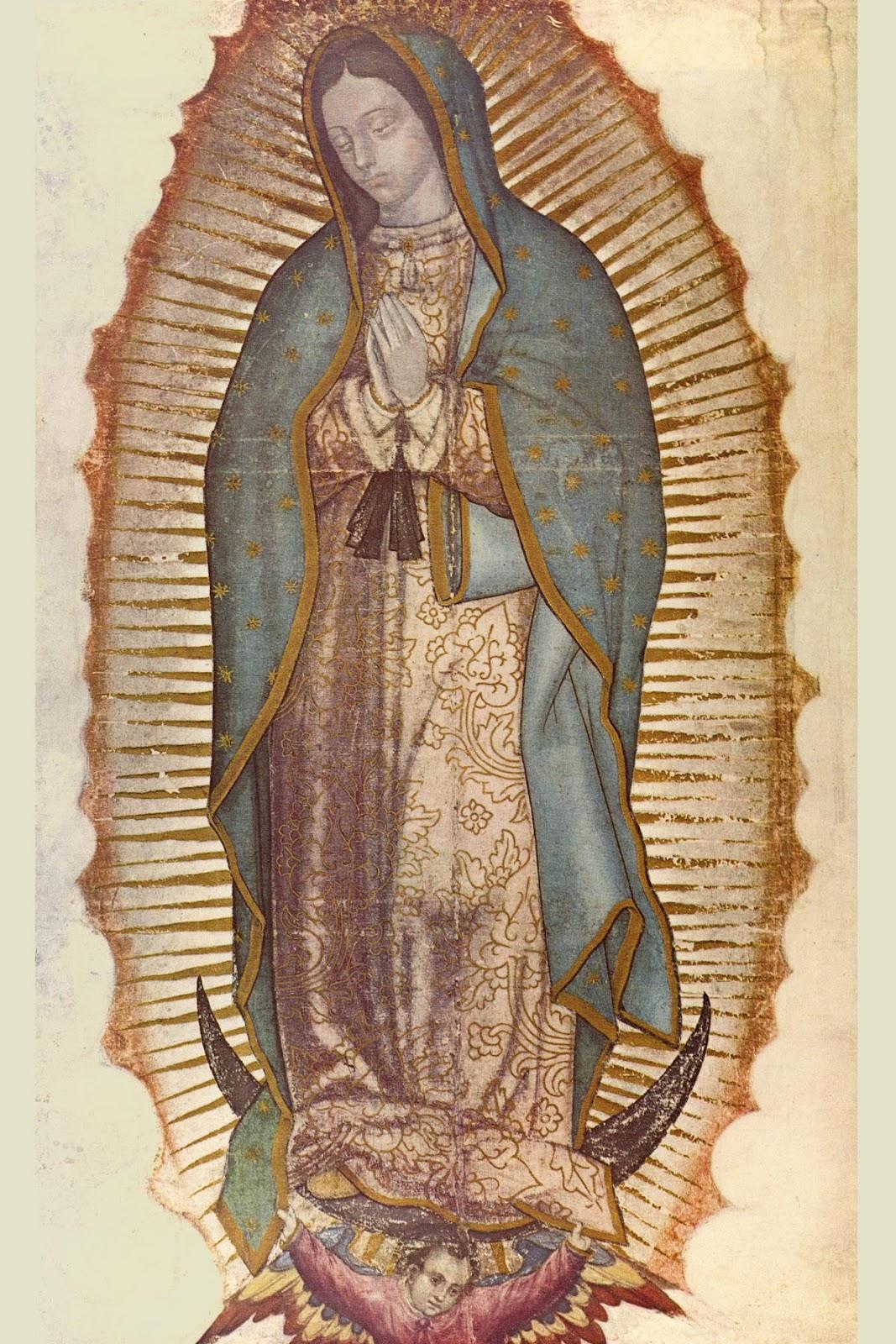 La Madonna di Guadalupe - interessante anche l'articolo di questo sito dans immagini sacre nostra-signora-della-guadalupe