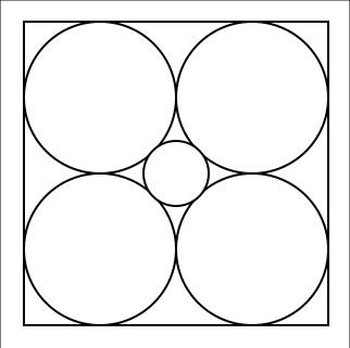 Un cerchio piccolo... ma solo perché siamo in due dimensioni!