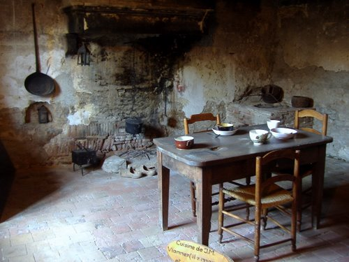 La cucina dove digiunava.