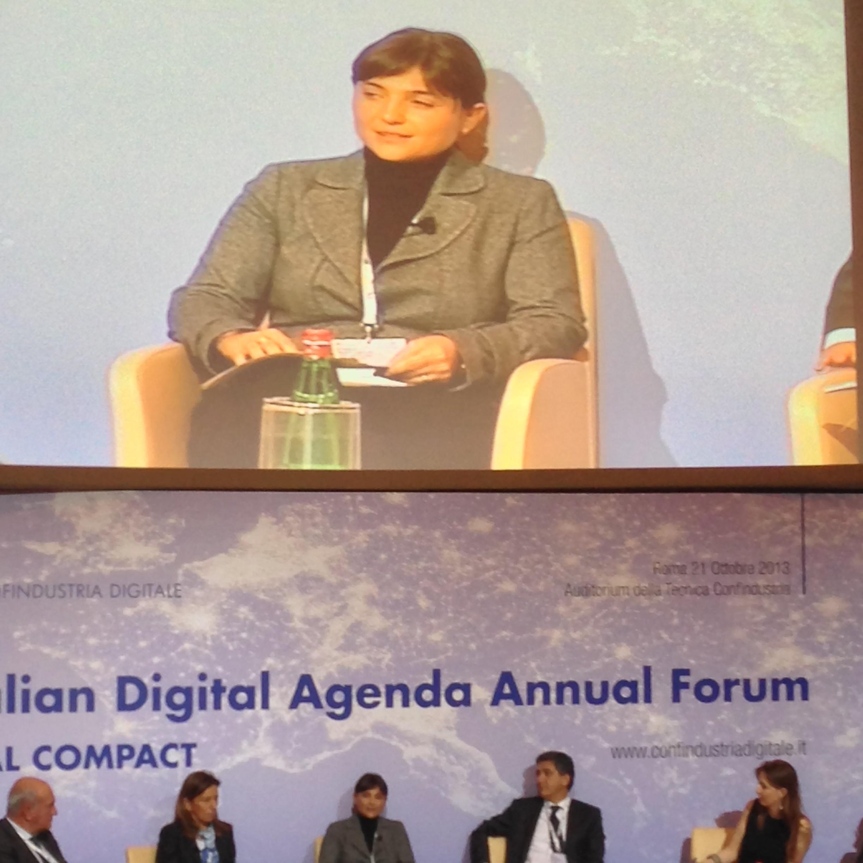 Il lancio di Go On Italia!: l'intervento di Debora Serracchiani all'Italia Digital Agenda Annual Forum